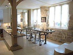 Duplex Paris 6° - Living room