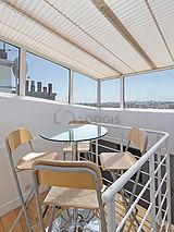 Apartamento Paris 10° - Varanda