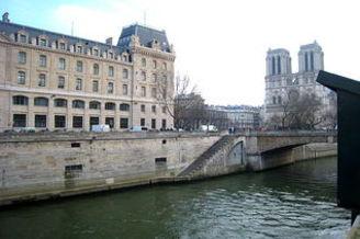 Квартира Quai Saint-Michel Париж 5°