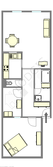 Appartamento Parigi 5° - Piantina interattiva