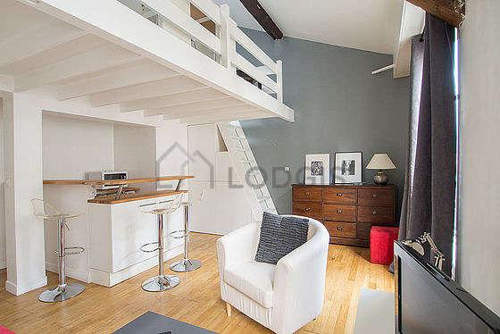 location studio meuble paris 17