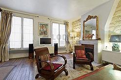 Wohnung Paris 3° - Wohnzimmer