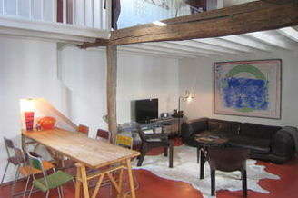 Canal Saint Martin Paris 10° 1 bedroom Loft