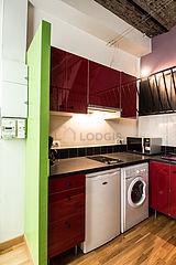 デュプレックス パリ 16区 - キッチン