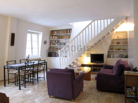 Location duplex 2 chambres avec ascenseur concierge et for Location meuble paris 16