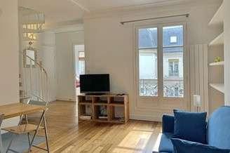 Auteuil Париж 16° 2 спальни Дуплекс