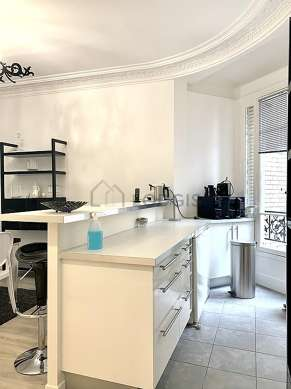 Great kitchen of 6m² with its tile floor