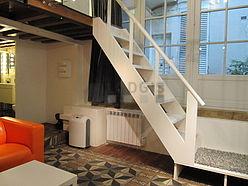 双层公寓 巴黎4区 - 客厅