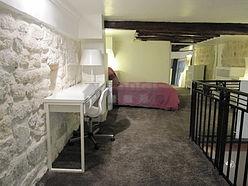 双层公寓 巴黎4区 - 卧室