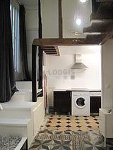 双层公寓 巴黎4区 - 厨房