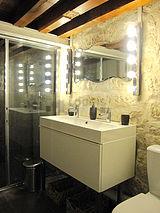 双层公寓 巴黎4区 - 浴室