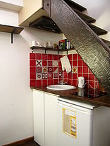 dúplex París 5° - Cocina
