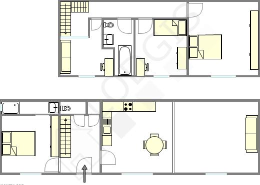 Дом Hauts de seine Sud - Интерактивный план