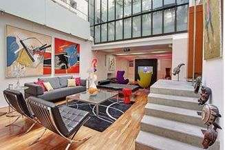 Canal Saint Martin Paris 10° 4 bedroom Loft