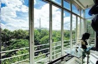 Auteuil Paris 16° 4 quartos Apartamento